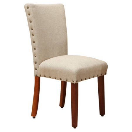 Homepop Classic Parsons Chair With Nailhead Trim Set Of 2 Size