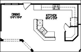 House Plan With Open Corner Kitchen Top 5 Corner Pantry Kitchen Ideas 2013 Kitchen Design Ideas Kitchen Floor Plans Corner Pantry Pantry Layout