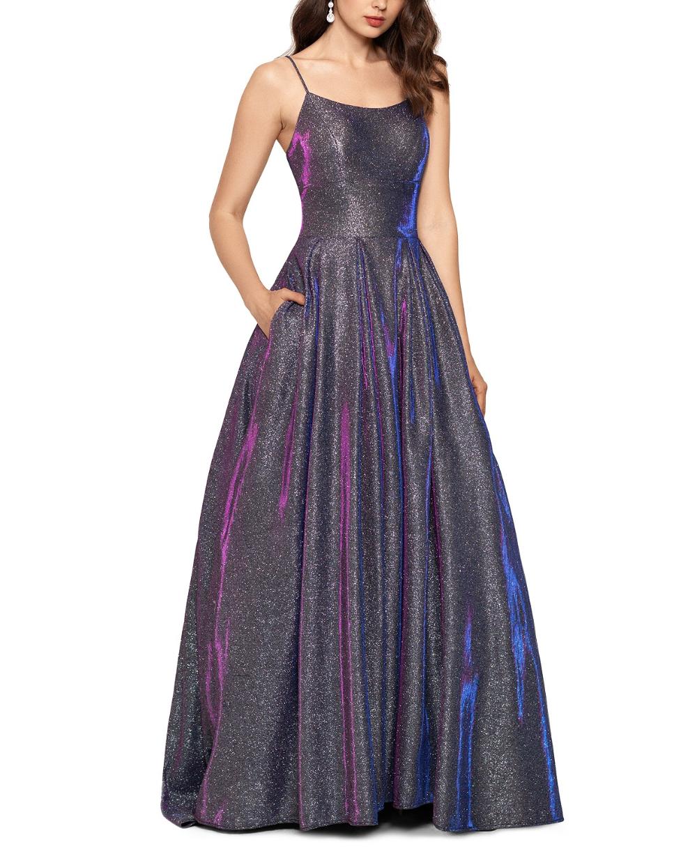 Betsy Adam Galaxy Glitter Ball Gown Reviews Dresses Women Macy S In 2021 Cute Prom Dresses Ball Gowns Galaxy Dress [ 1219 x 1000 Pixel ]