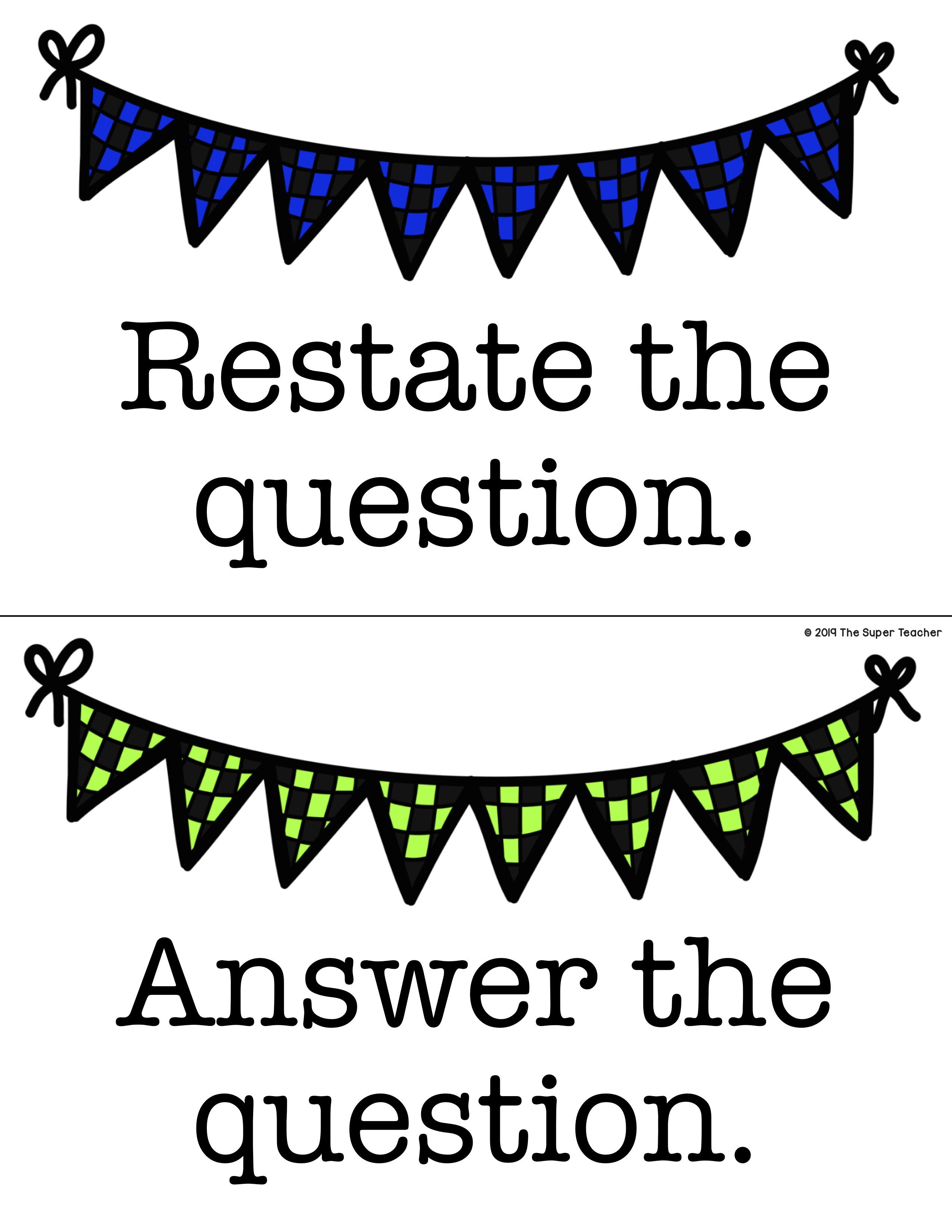 Race Response Bulletin Board And Worksheets