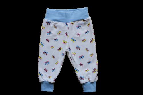 Kuschelhose kleine Schmetterlinge weiß Kuschelhose aus Jersey, mit verstellbarem Gummi im Bauchbündchen, perfekt zum mitwachsen :-) mehr auf www.halalino.de #Babyhose #handmade #Kuschelhose #Baby #Kind