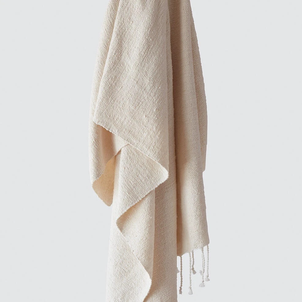 Farah Towels Cream Egyptian Cotton Towels Turkish Towels Towel