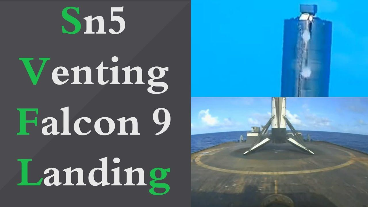 Starship Sn5 Venting Falcon 9 Landing Spacex Boca Chica 20 07 2020 In 2020 Spacex Boca Chica Starship