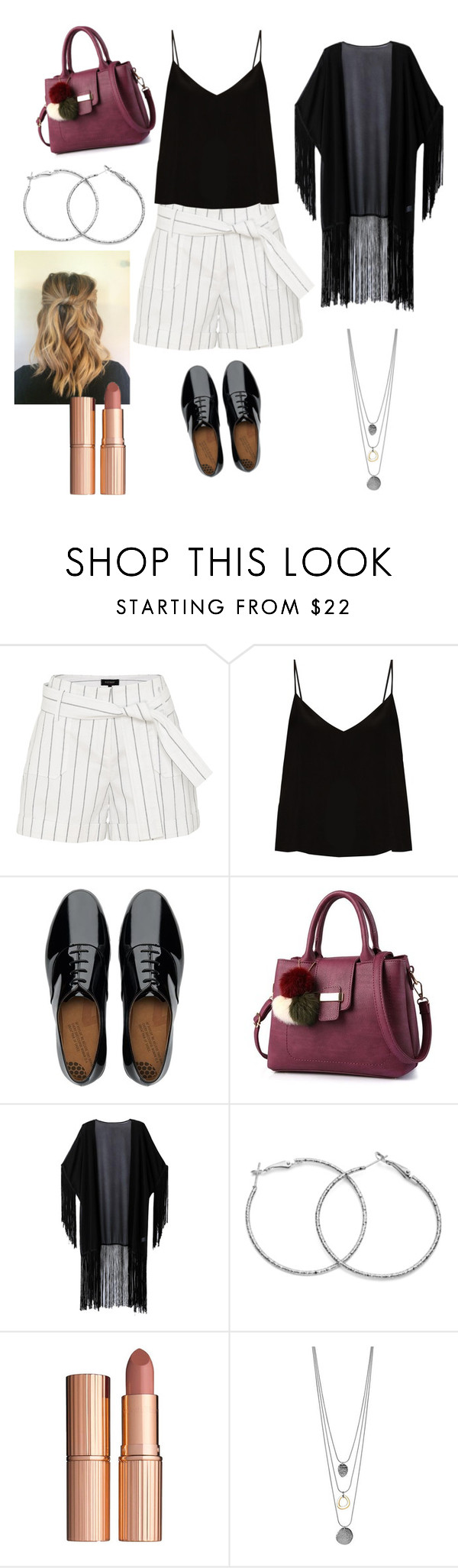 """Untitled #407"" by carolineccvi on Polyvore featuring Raey, FitFlop, WithChic and Charlotte Tilbury"