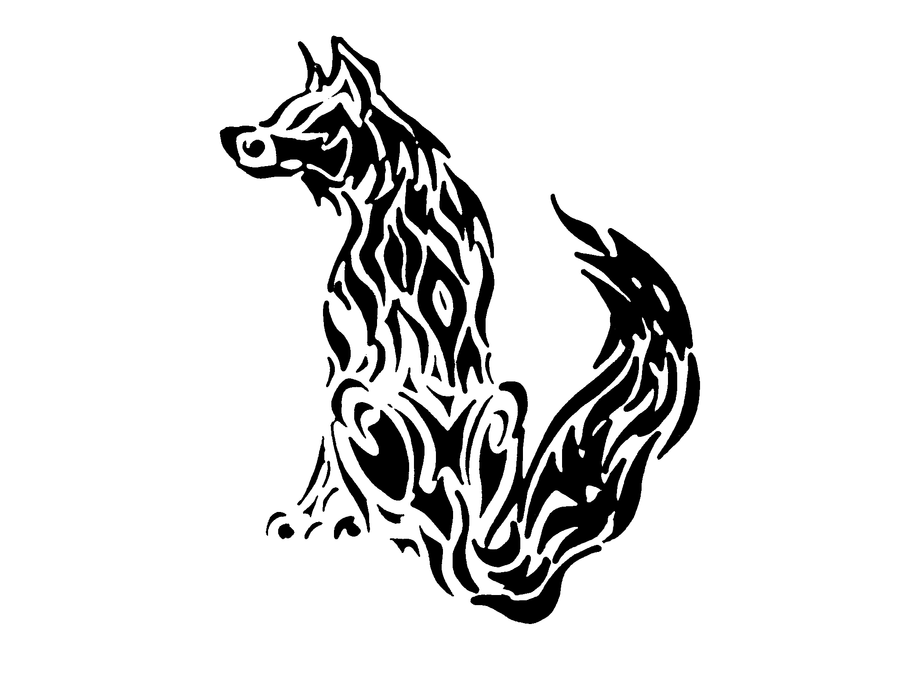 Tribal Fox Tattoo | Tribal Fox Tattoo by MegTheOreo on
