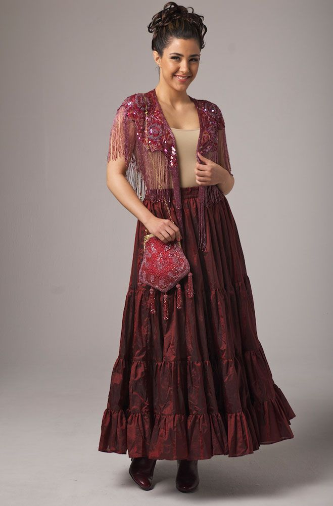 Mother Of The Bride In Burgundy Western Wear Women Clothing Arel
