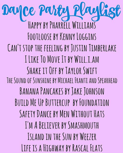 Dance Party Fun Live Life Confidently Dance Party Kids Party Playlist Party Playlist Dance