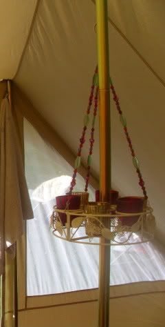 Bell tent tealight chandelier UKC&site.co.uk C&ing under canvas Forum Messages & Bell tent tealight chandelier UKCampsite.co.uk Camping under ...