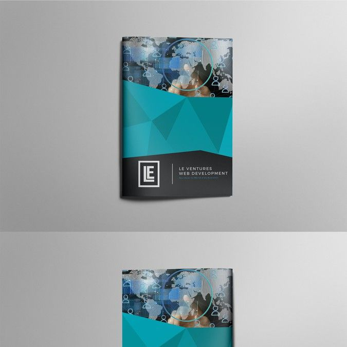 Web Development Firm Marketing Brochure by DolphinArt Business