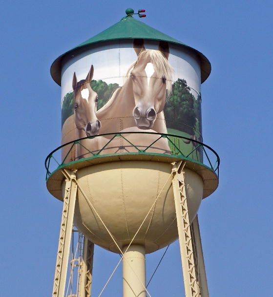 Water Tower At The Equestrian Center Upper Marlboro Md