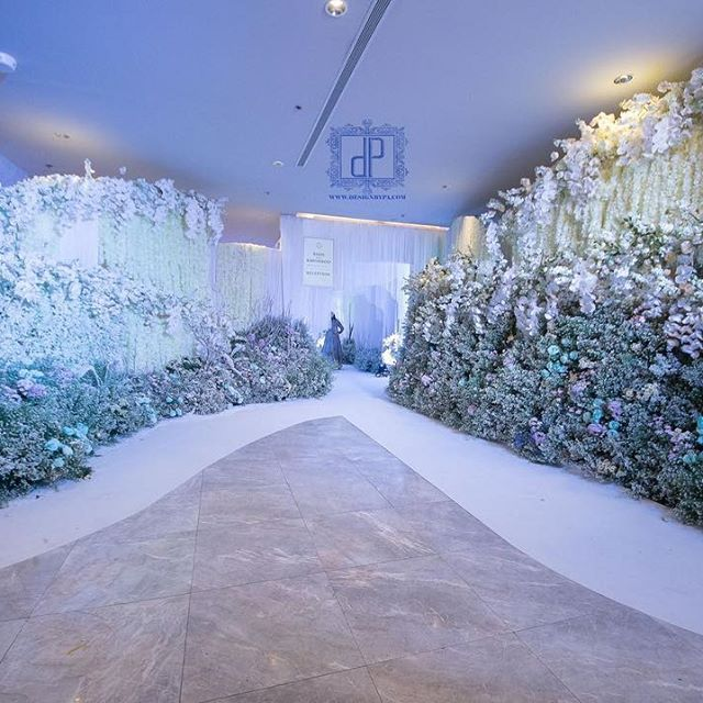 """Reception night #RishKhush Wedding """"We Do It More"""" สร้างด้วยรักทำด้วยใจ... We offer decor theme in a variety of color & according to your budget. Have a look at few of our Wedding Themes here.....!!! Contact Us:>>(+66)814589583 K.PeeraPach (+66)855562232 K.PeeraPach Email:>>peerapachauttapan@hotmail.com Website:>>http://www.designbypa.com http://www.facebook.com/designbypa http://instagram.com/dp_designbypa #indiangroom #weddingseason #indianbride #thailandwedding #events #flowerdecor ..."""