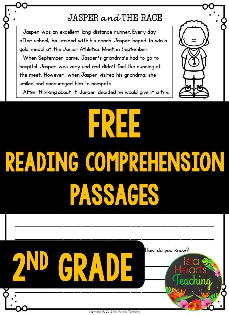 Second Grade Reading Comprehension Passages And Questions Free Sample Reading Comprehension Passages Comprehension Passage Reading Comprehension [ 1056 x 768 Pixel ]