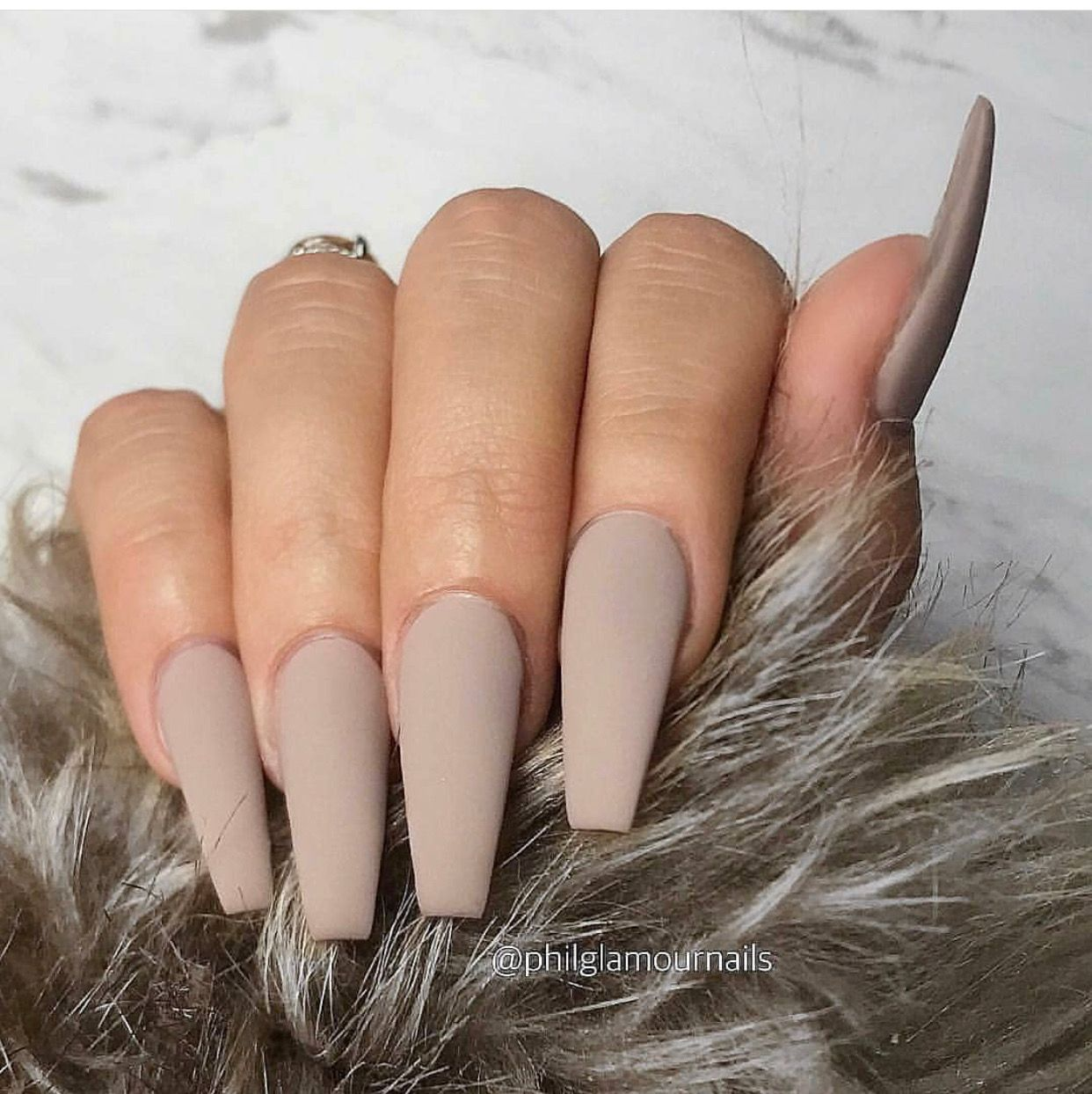 Nail Trends 2019 Nail Design Inspiration Brown Acrylic Nails Best Acrylic Nails Long Acrylic Nails