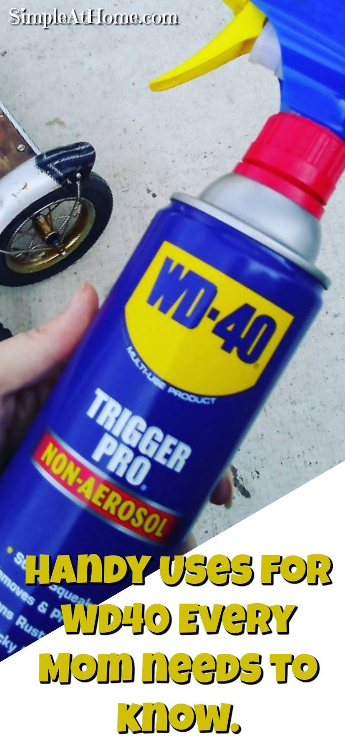 WD40 is one of those simple things every home should have on hand. It has so many handy uses that you are guaranteed to be glad you had it on hand when the need arises. Sure you know you can use WD40 for squeaks and such around the house but that is just the start...Read More