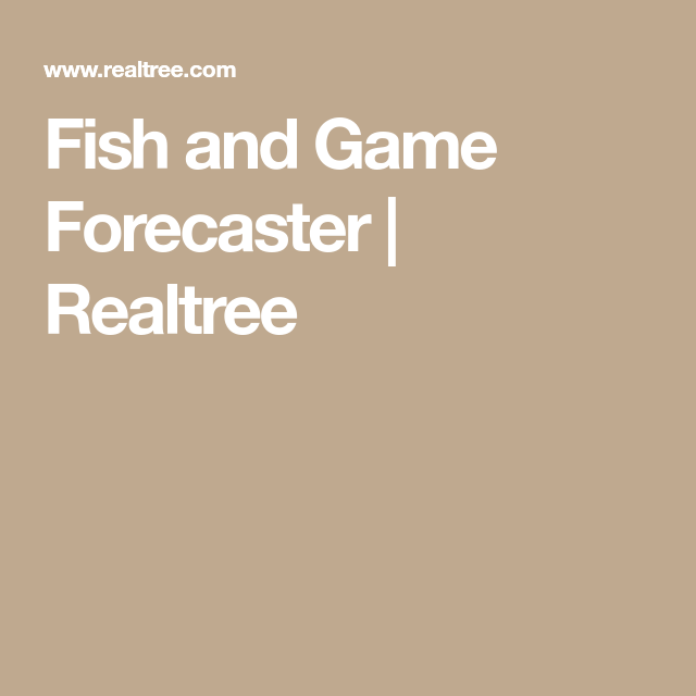 28+ Realtree Game Forecast  Pictures