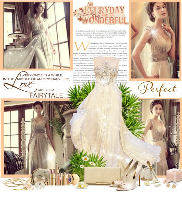 """""""fairytale dress"""" by blondiejenny ❤ liked on Polyvore"""