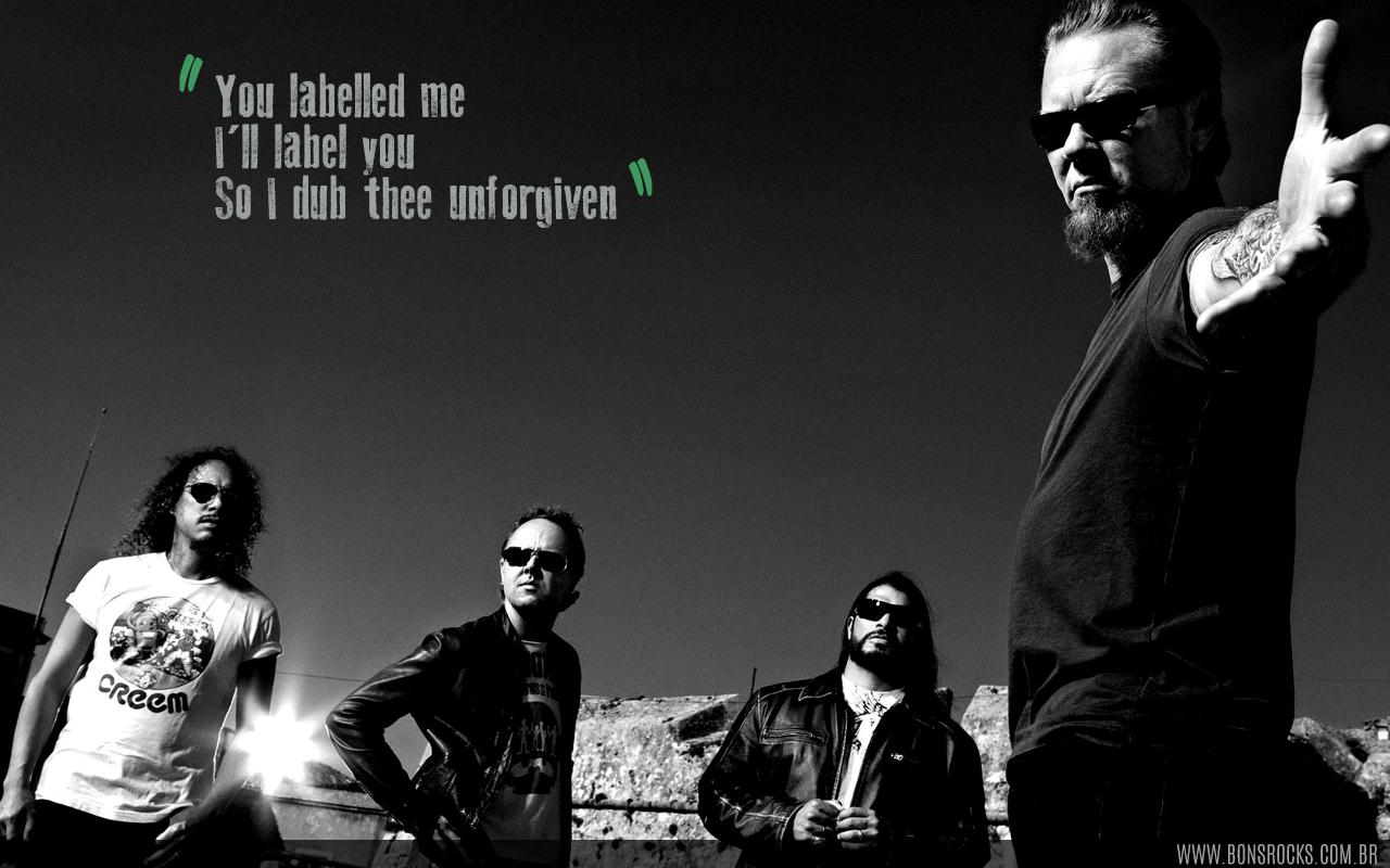 Metallica Wallpaper - The Unforgiven  Download: www bonsrocks com br