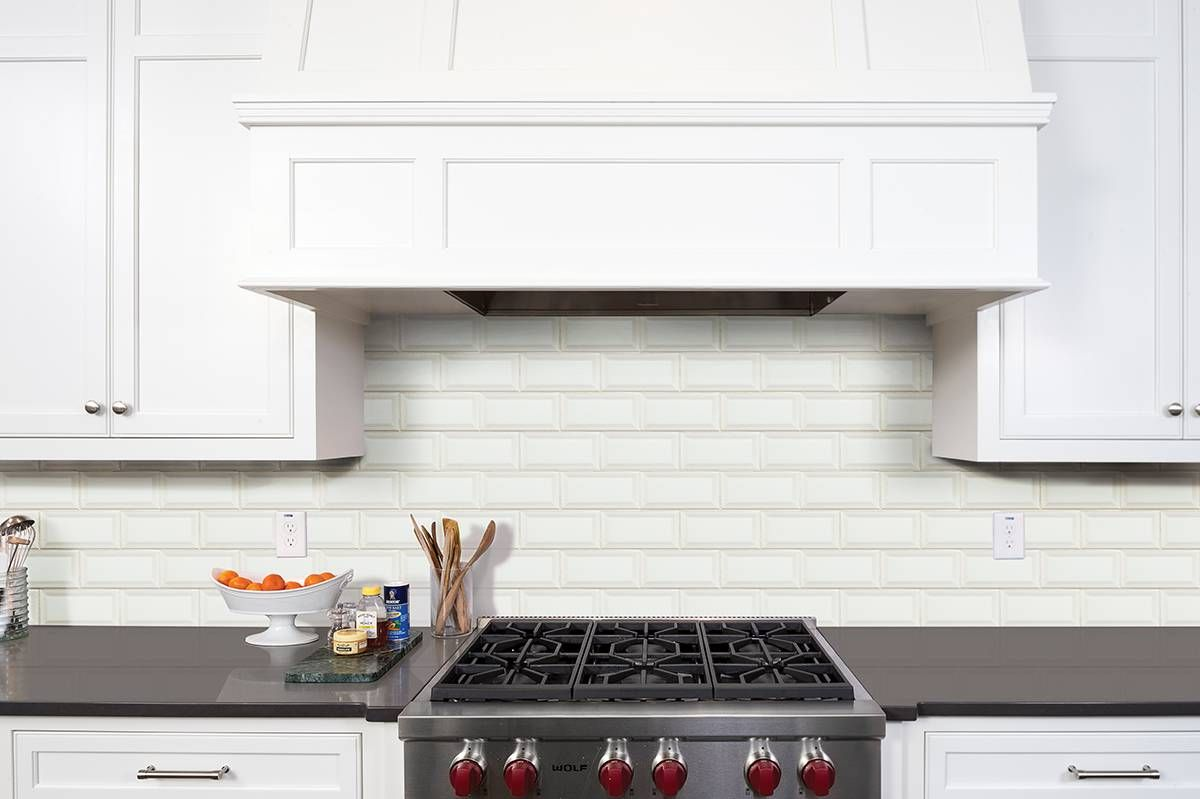 This white subway tile is 3x6 and features beveled edges that add this white subway tile is 3x6 and features beveled edges that add interest to an otherwise dailygadgetfo Gallery