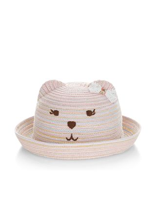c95b660a604 Baby Stripey Bear Bowler Hat