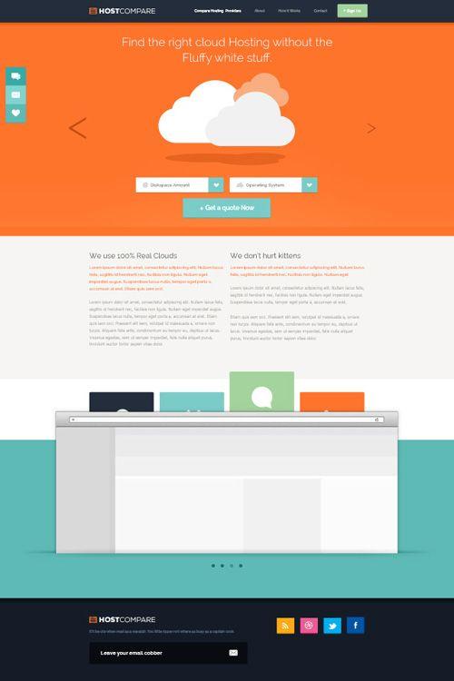 30 Free Responsive PSD Website Templates | Webdesign Resourses ...