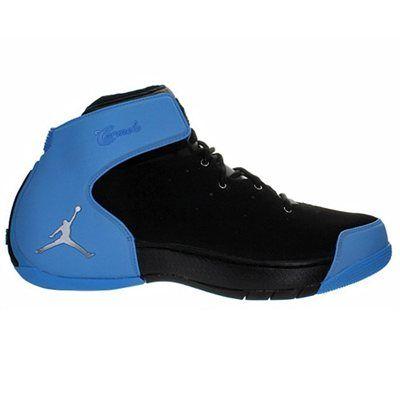 Jordan Melo 1.5 Basketball Shoe - Black/Metallic Silver/University Blue