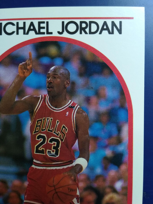 1989 hoops basketball debut michael jordan chicago bulls