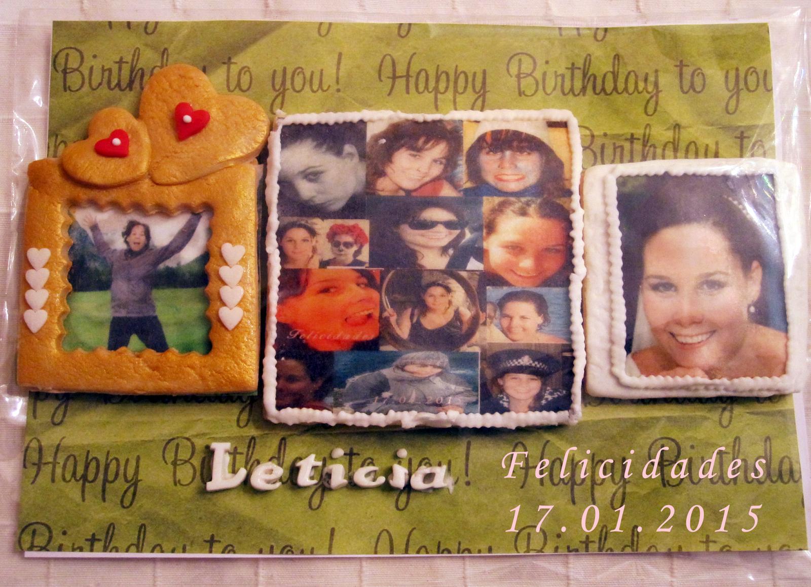 Mon Miracles: Galletas personalizadas para cumpleaños | galletas ...