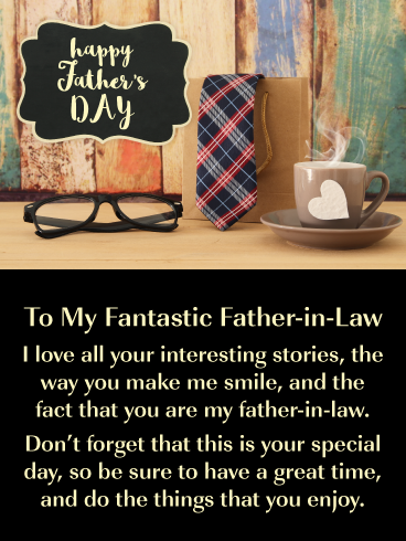 It S Your Day Happy Father S Day Card For Father In Law Birthday Greeting Cards By Davia Happy Father Birthday Message To Father You Are The Father