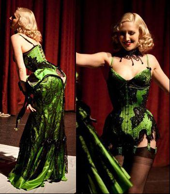 "Vienna Le Rouge   ""La Fee Verte Show"" aka. The Absinthe Show"