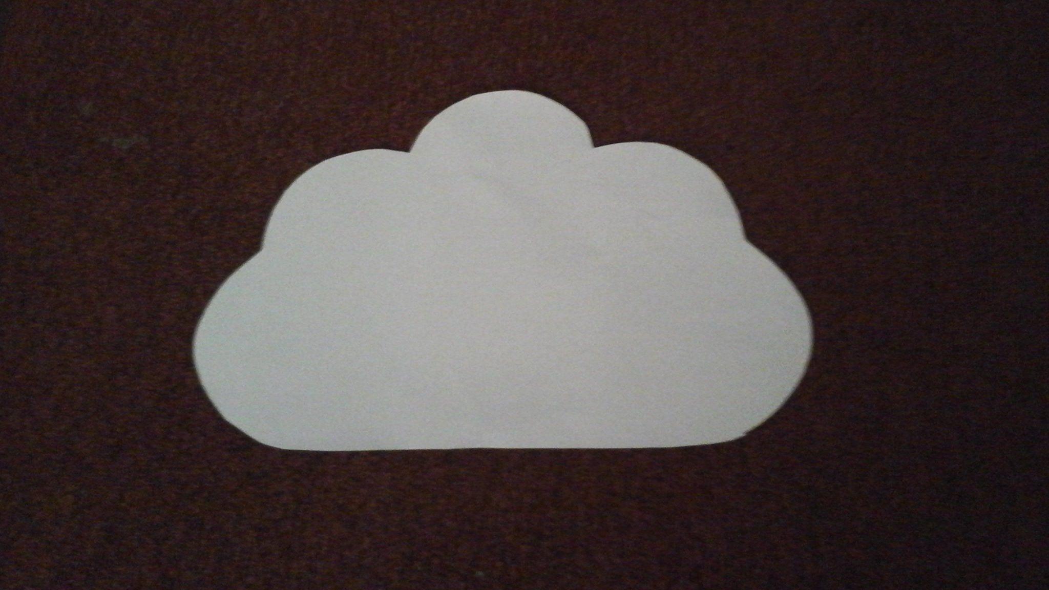 veilleuse applique murale enfant nuage