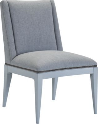 Tate Side Chair with Painted Sabots from the Hable for Hickory Chair