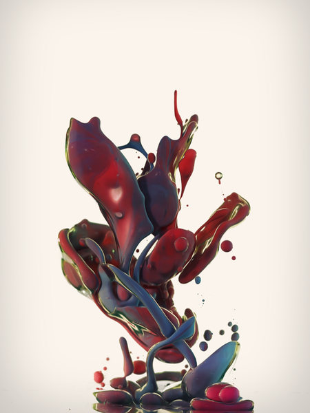 'Dropping VI'. Giclée Art Print by Alberto Seveso
