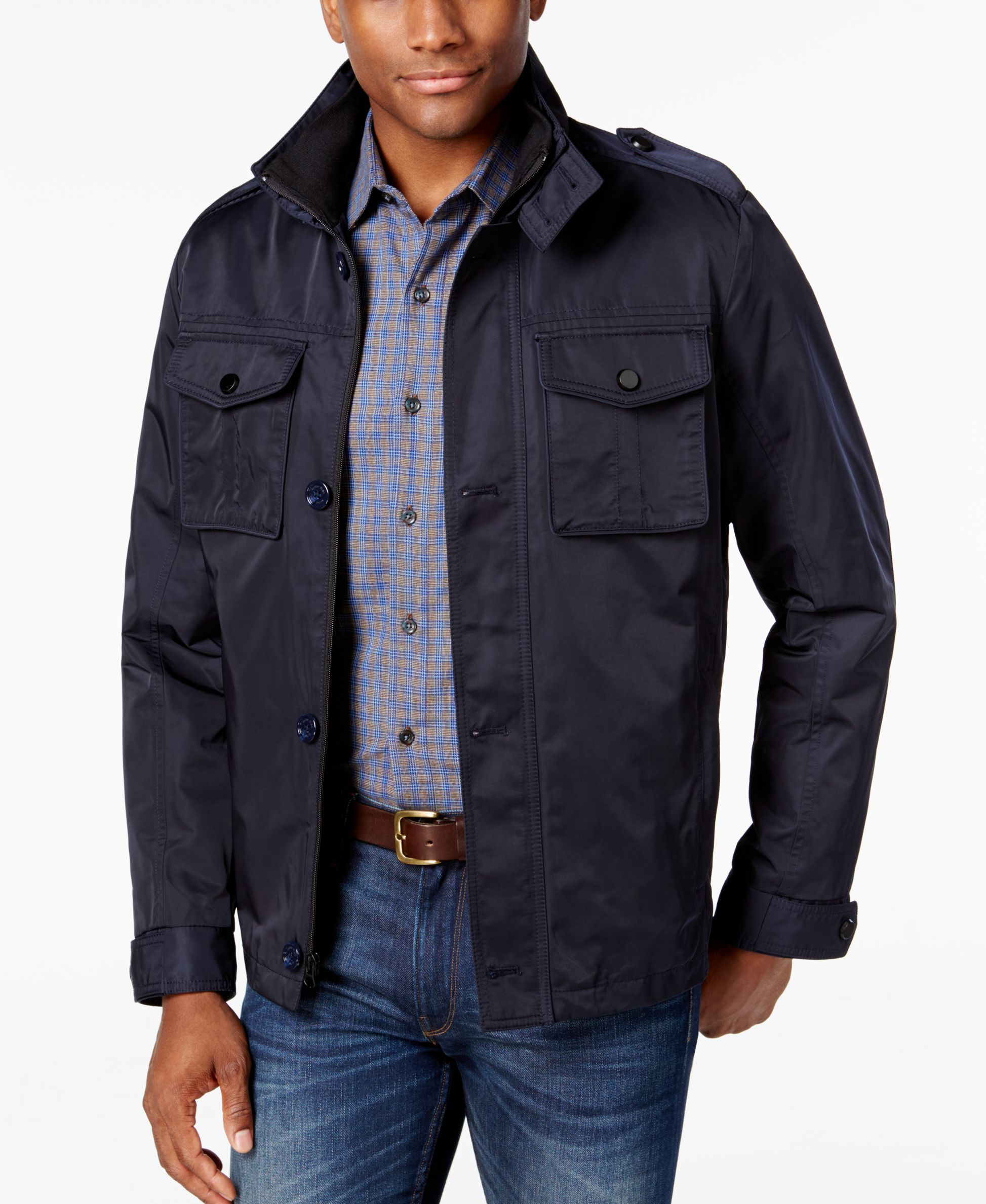 d49841c09 Tasso Elba Men's Four-Pocket Jacket, Only at Macy's | Products ...