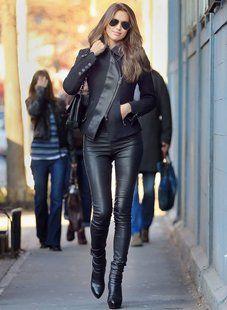 Leather Skinny pants