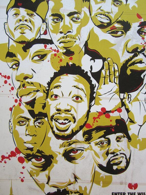 Wu Tang Clan Enter The 36 Chambers Digital Art Print Etsy In 2021 Digital Art Prints Hip Hop Artwork Hip Hop Art
