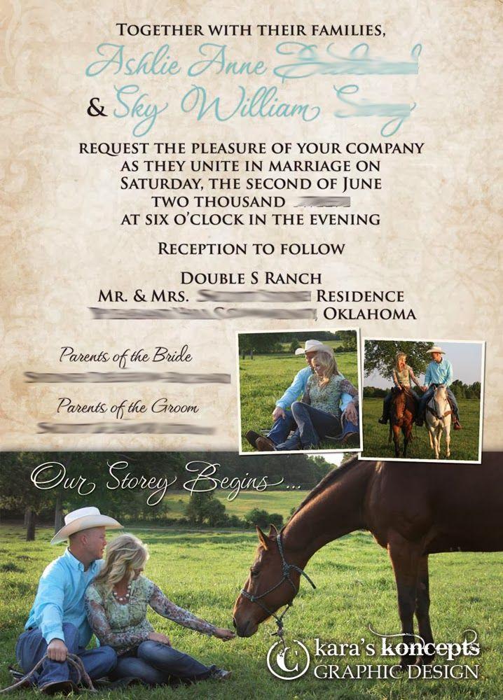 kara s koncepts graphic design custom wedding invitations 2