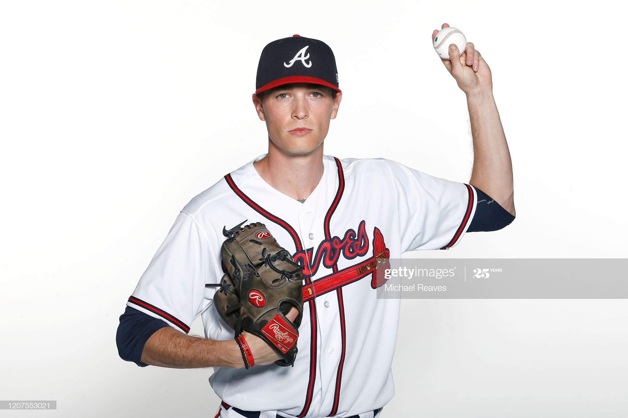 Max Fried Of The Atlanta Braves Poses For A Photo During Photo Day At In 2020 Atlanta Braves Braves Atlanta Braves Baby