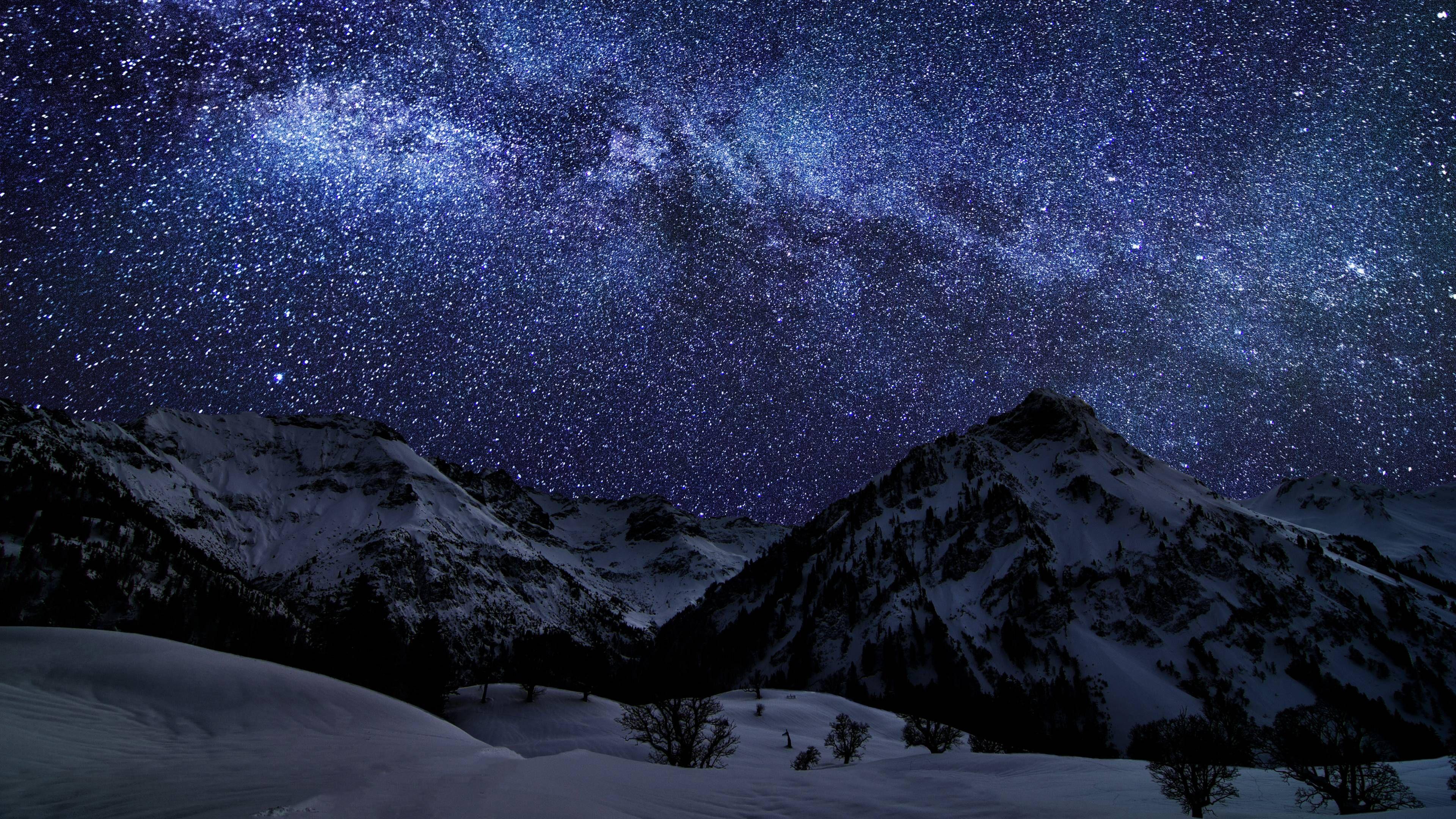 4k Wallpaper Dump Night Skies Winter Sky Sky