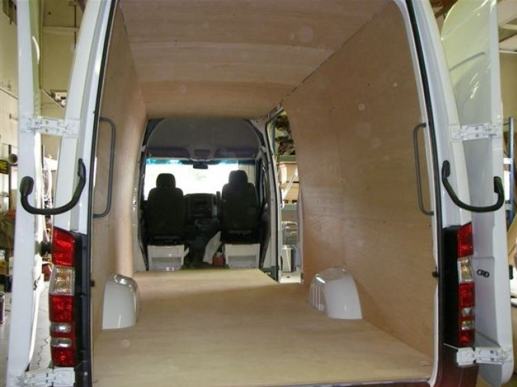 07 Sprinter Van Wall Liner Kit 144 Quot Wb Plywood