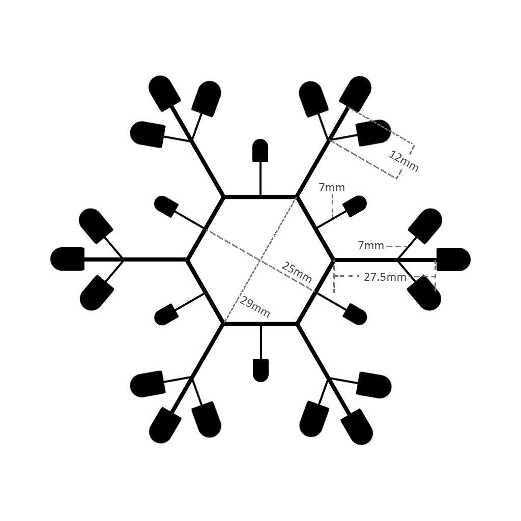 Freeform Snowflake