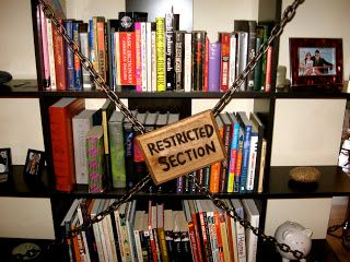 Restricted Section In The Library Common Room Harry