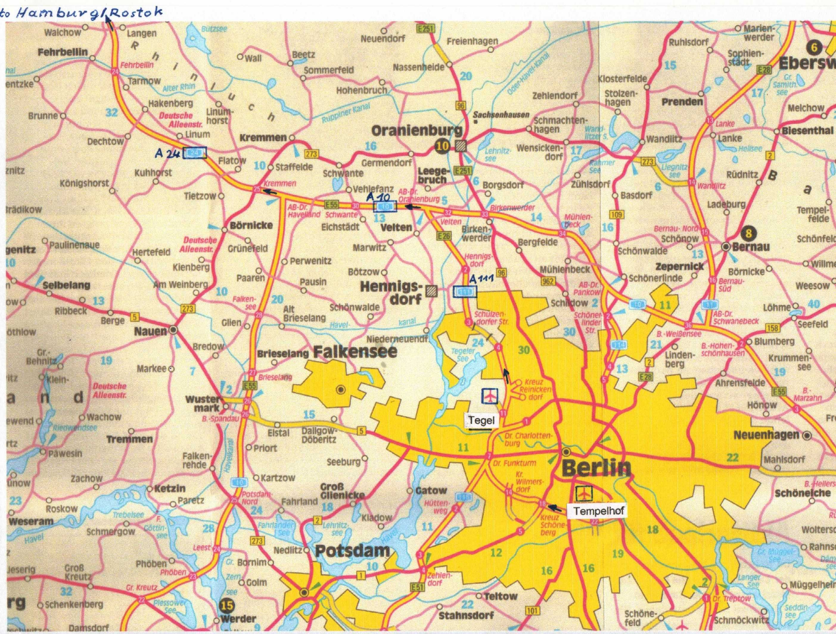Berlin Germany – Tourist Map of Berlin