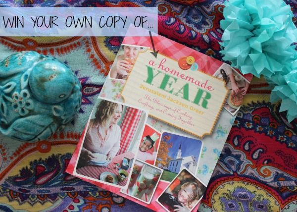 win a copy of A Homemade Year!
