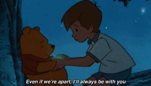 ღ said pooh bear & christopher robin