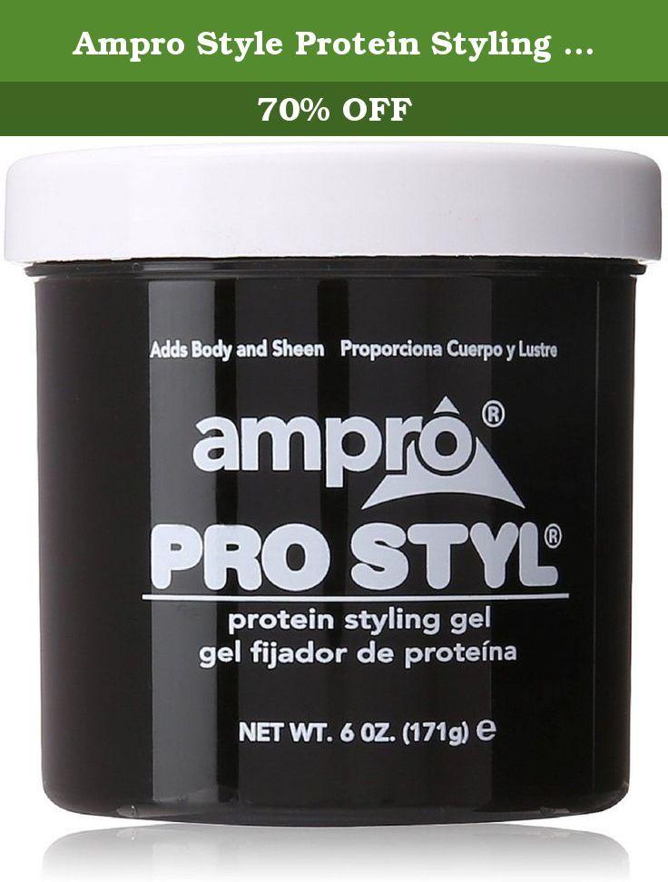 Ampro Style Protein Styling Gel 6 Ounce Amipro Pro Style Protein Styling Gel Adds Body And Sheen Does Not Flake Non Gre Protein Styling Gel Styling Gel Gel