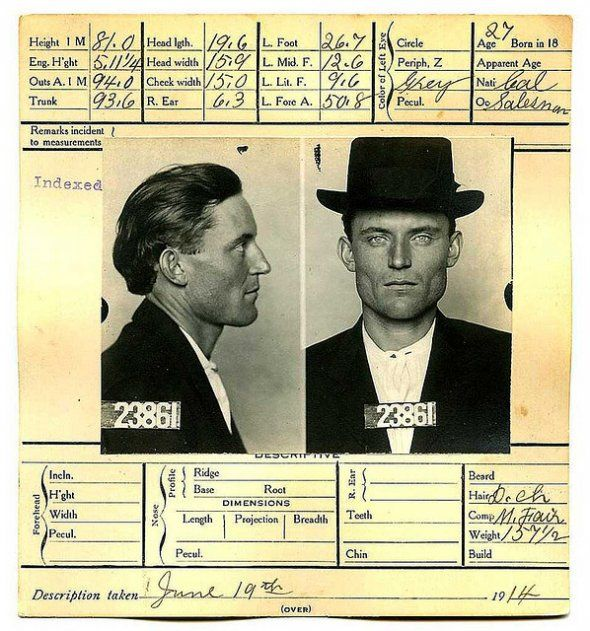 17 Hauntingly Beautiful Historical Mugshots Photoboothmug Shots