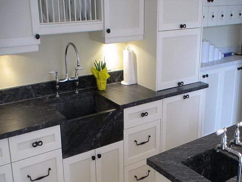 Soapstone Counter Looks Like The Black Diamond Granite