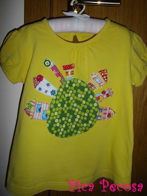 Village shirt / Camiseta con un pueblo