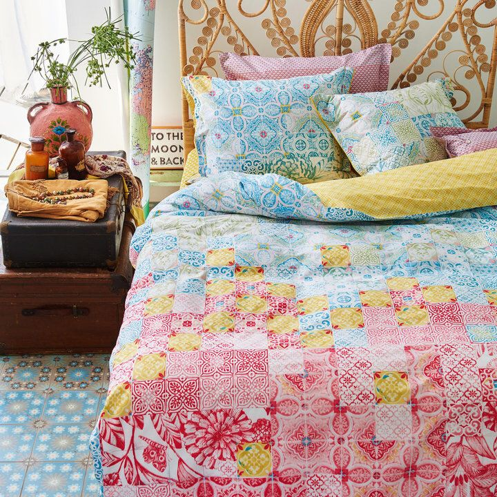 Pip Studio Mixed Up Tiles Duvet Cover Double Bed