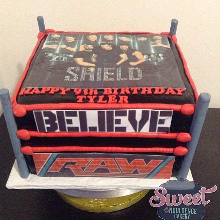 Wwe The Shield Cake Wedding Cake Birthday Cake Custom